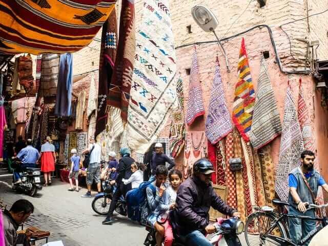 Marrakech Medina - Morocco Visiter