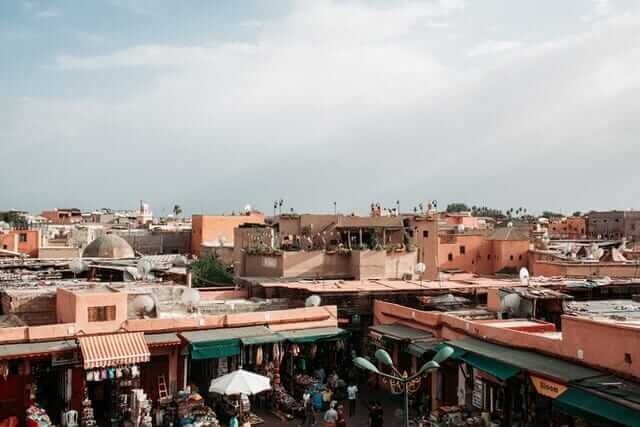 Medina of Marrakech - Morocco Visiter