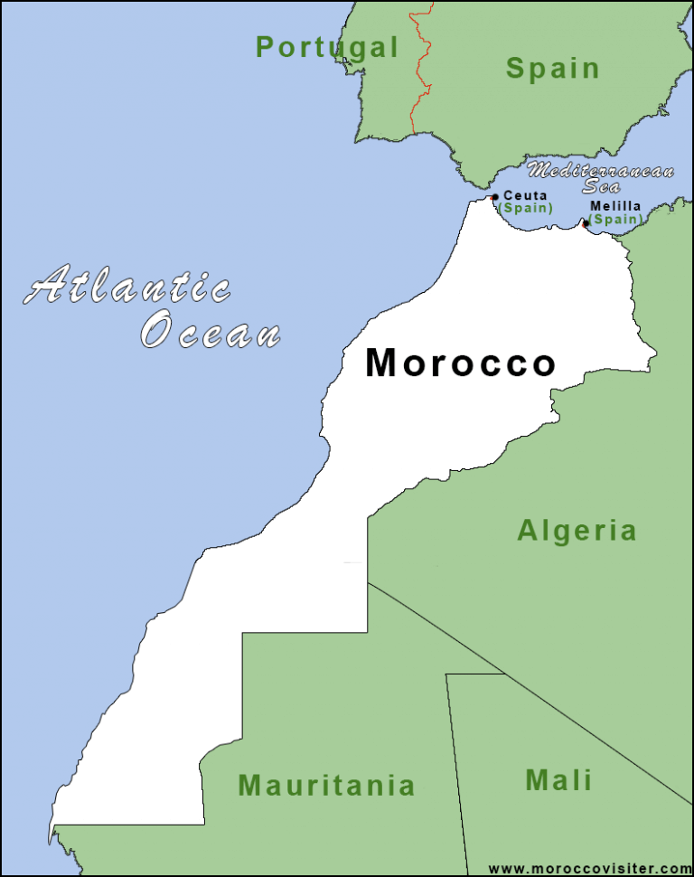 Morocco in Africa - Morocco Geography