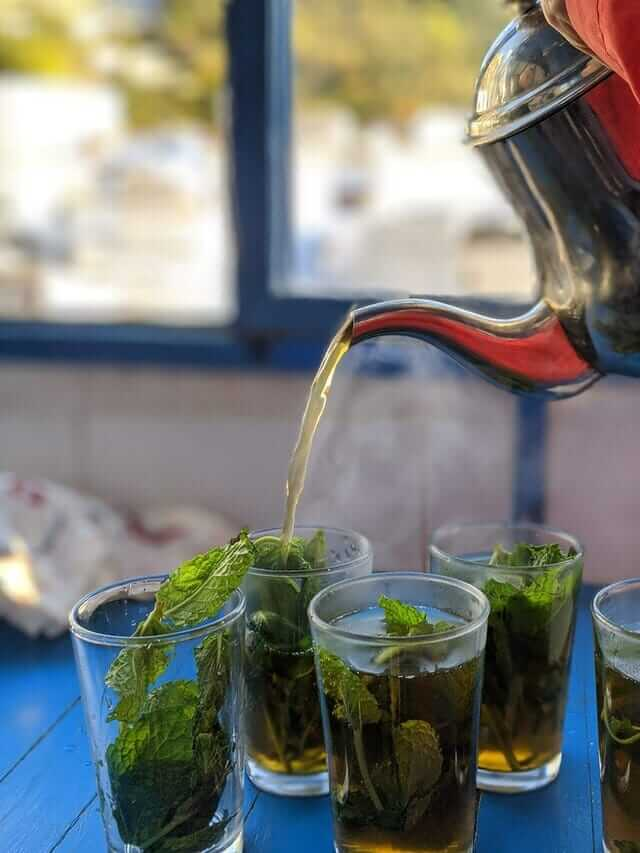 Moroccan Mint Tea - Morocco Visiter